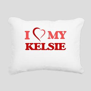 I love my Kelsie Rectangular Canvas Pillow