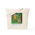 Bigfoot Cartoon 9298 Tote Bag