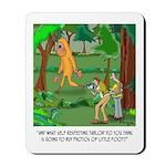 Bigfoot Cartoon 9298 Mousepad