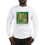 Bigfoot Cartoon 9298 Long Sleeve T-Shirt