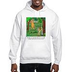 Bigfoot Cartoon 9298 Hooded Sweatshirt
