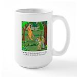 Bigfoot Cartoon 9298 Large Mug