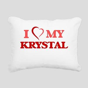 I love my Krystal Rectangular Canvas Pillow