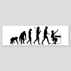 Student Evolution Sticker (Bumper)