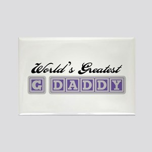 World's Greatest G-Daddy Rectangle Magnet