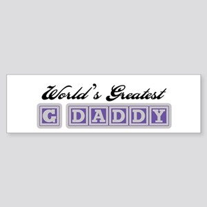 World's Greatest G-Daddy Bumper Sticker