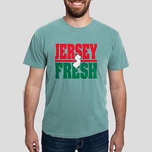 Jersey Fresh Logo - white NJ & color T-Shirt