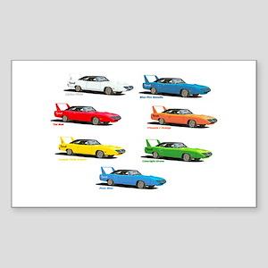 Super Colors Rectangle Sticker