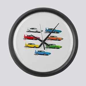 Super Colors Large Wall Clock