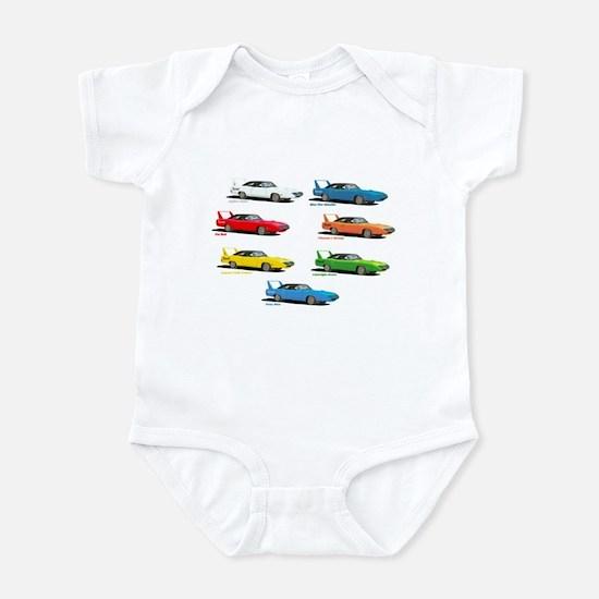 Super Colors Infant Bodysuit