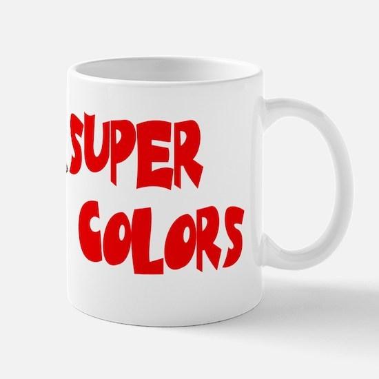 supercolors-bev Mugs