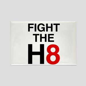 Fight the H8 Rectangle Magnet