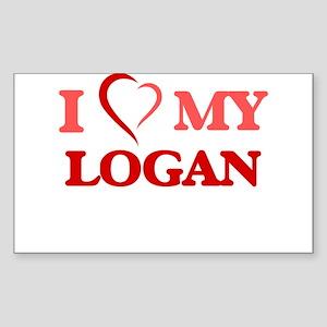 I love my Logan Sticker