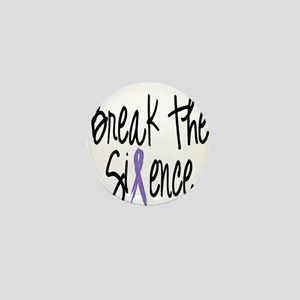 Speak Out Say No Mini Button