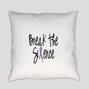 Speak Out Say No Everyday Pillow