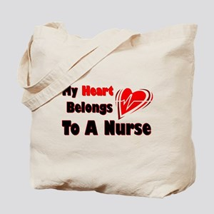 My Heart Nurse Tote Bag