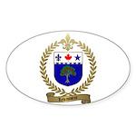 LEVASSEUR Family Oval Sticker