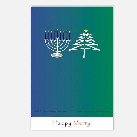 Holiday Lights postcard (Pkg of 8)