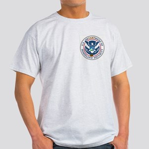 Defartment of Homeland Securi Light T-Shirt