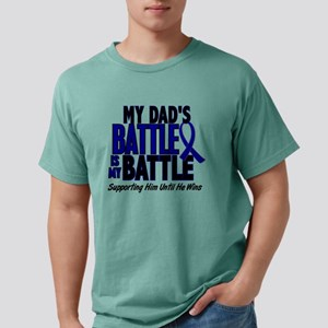 My Battle Too 1 BLUE (Dad) T-Shirt