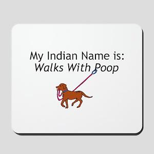 Indian Name Mousepad