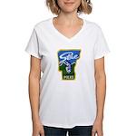 Stowe Police Women's V-Neck T-Shirt