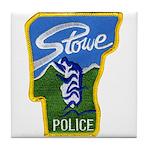 Stowe Police Tile Coaster
