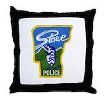 Stowe Police Throw Pillow