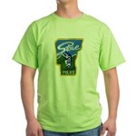 Stowe Police Green T-Shirt