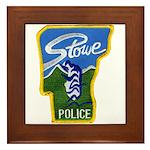 Stowe Police Framed Tile