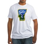 Stowe Police Fitted T-Shirt