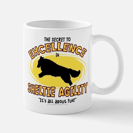 The Secret to Sheltie Agility Mug