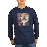 Jack Be Nimble Long Sleeve Dark T-Shirt