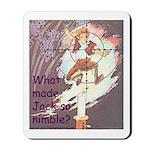 Jack Be Nimble Mousepad