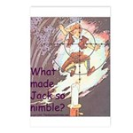 Jack Be Nimble Postcards (Package of 8)