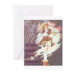 Jack Be Nimble Greeting Cards (Pk of 10)