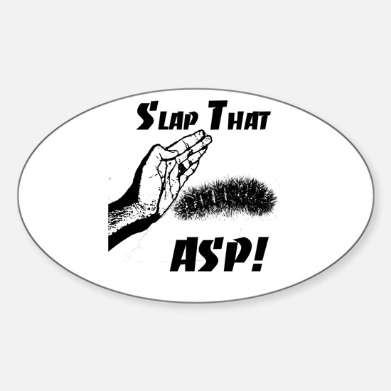 Slap That ASP Oval Decal