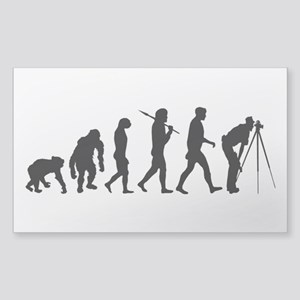 Land Surveying Surveyors Rectangle Sticker
