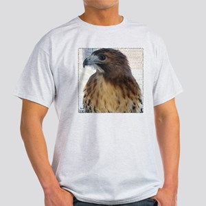 Ostara, Red Tail hawk Ash Grey T-Shirt