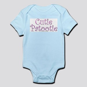 Cutie Patootie Infant Creeper
