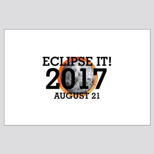 Eclipse 2017 Large Poster