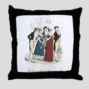 Hugh Thompson 3 Throw Pillow