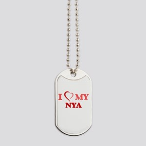 I love my Nya Dog Tags