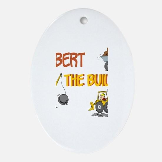 Bob the Builder Oval Ornament