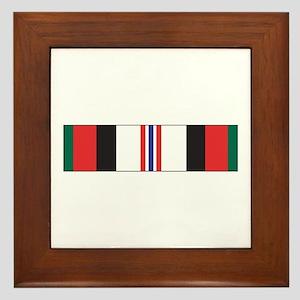 Afghanistan Campaign Framed Tile