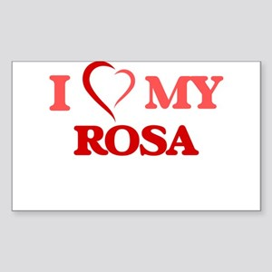 I love my Rosa Sticker