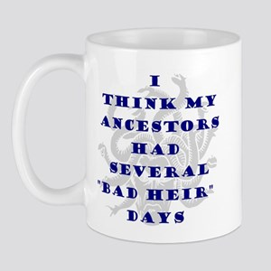 Genealogy Heirs Mug