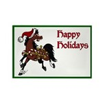 Jingle Bell Horse Magnet