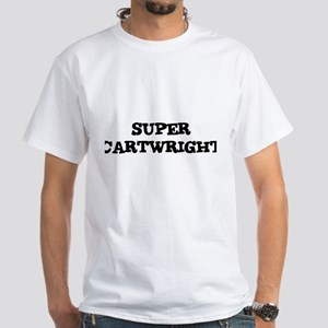 SUPER CARTWRIGHT White T-Shirt