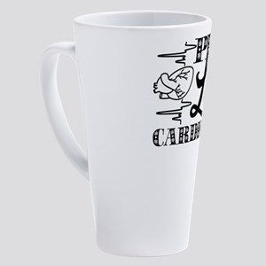 Cardiologist 17 oz Latte Mug
